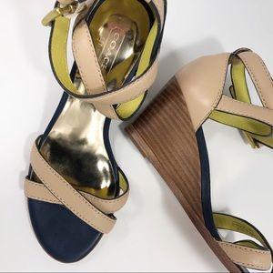 Coach | Strappy Wedge Heel Sandals | 5.5B